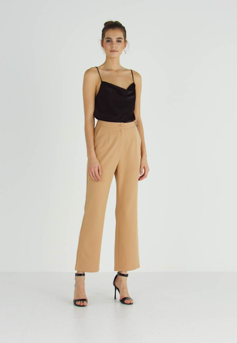 Missguided - TAILORED TROUSER  - Bukse - camel - 1