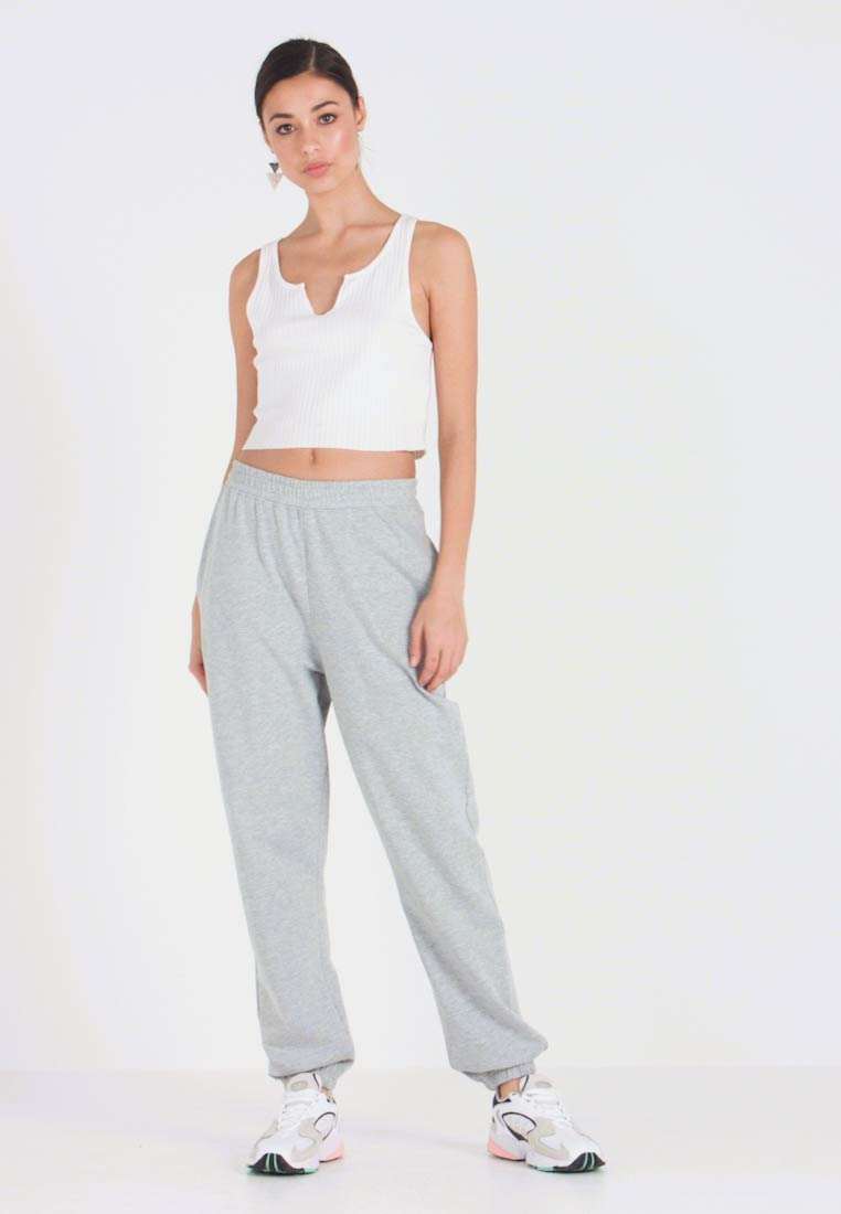 Missguided - BASIC JOGGER - Jogginghose - grey - 1