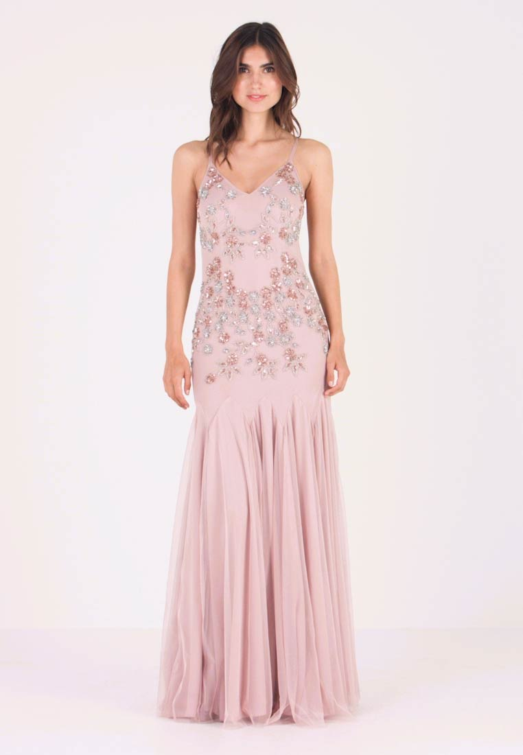 Maya Deluxe - EMBELLISHED CAMIMAXI DRESS WITH FISHTAIL - Ballkjole - frosted pink - 1