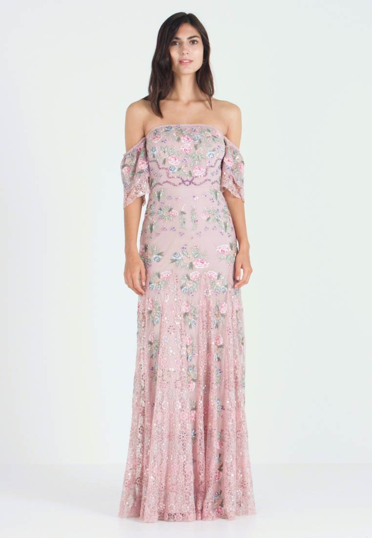 Maya Deluxe - ALL OVER MAXI DRESS WITH DETAILING - Abito da sera - soft pink - 1