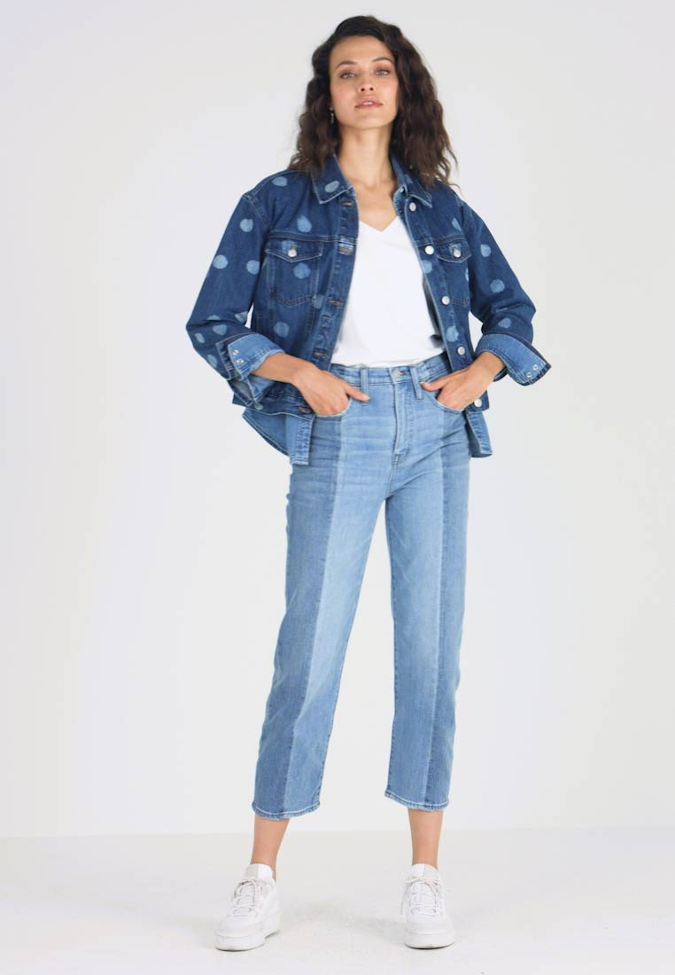 Madewell - NOVELTY CLASSIC IN - Straight leg jeans - clairmont wash - 1