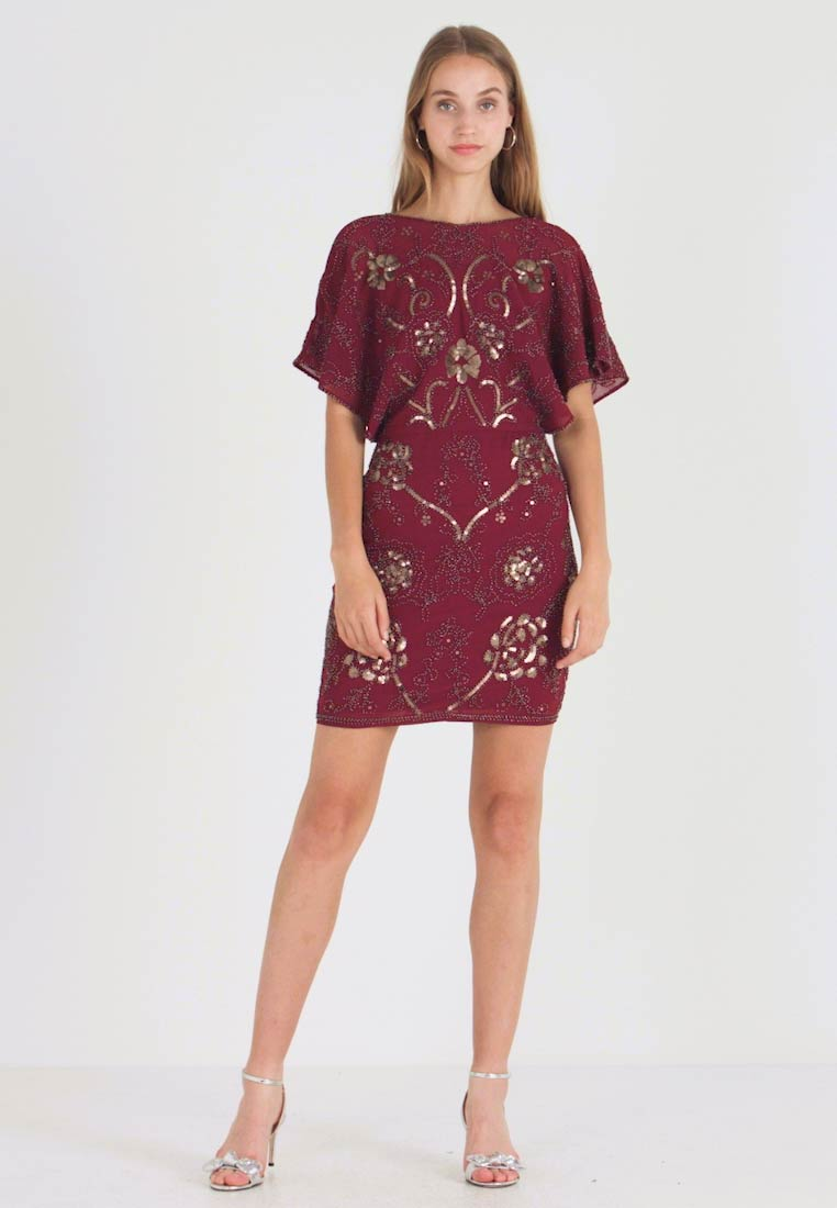 Molly Bracken - Vestido de cóctel - dark red - 1