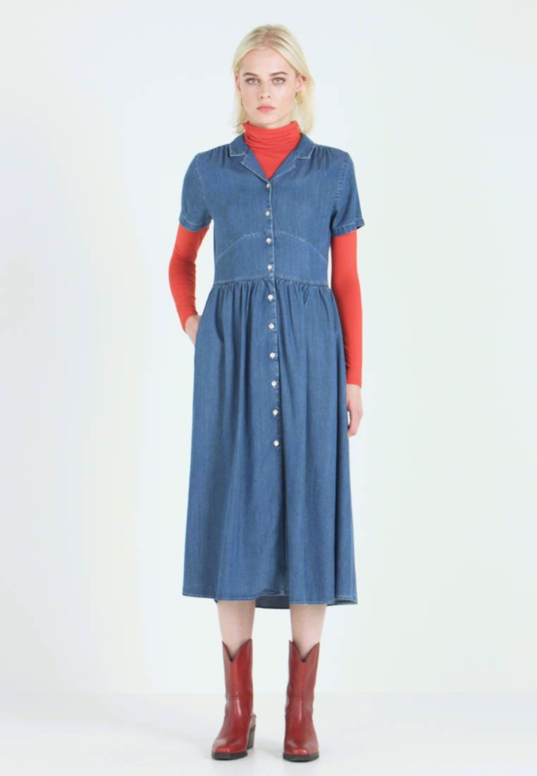 Mavi - DRESS - Jeanskjole / cowboykjoler - denim - 1