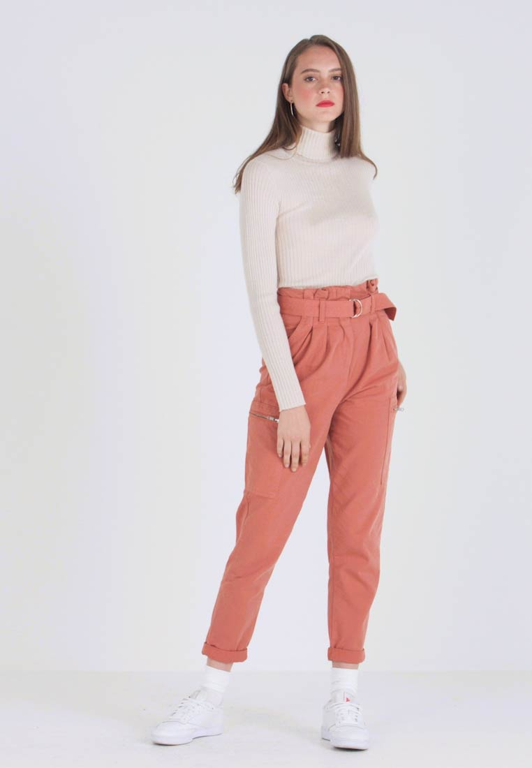 Miss Selfridge - NEW SIDE POCKET TROUSER - Bukse - blush - 1