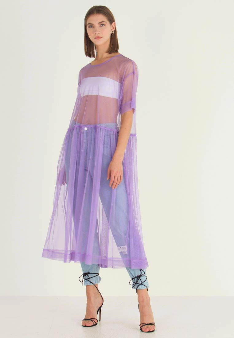 Monki - SILVIA DRESS - Day dress - tulle purple - 1