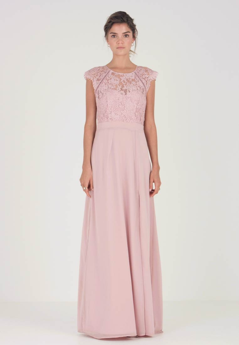 Nly by Nelly - CAP SLEEVE FLOWY GOWN - Suknia balowa - rose - 1