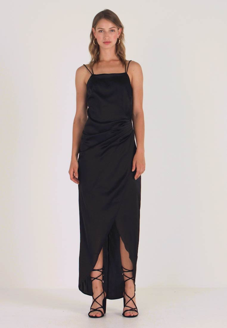 Nly by Nelly - STRAPPY DETAIL GOWN - Robe de cocktail - black - 1