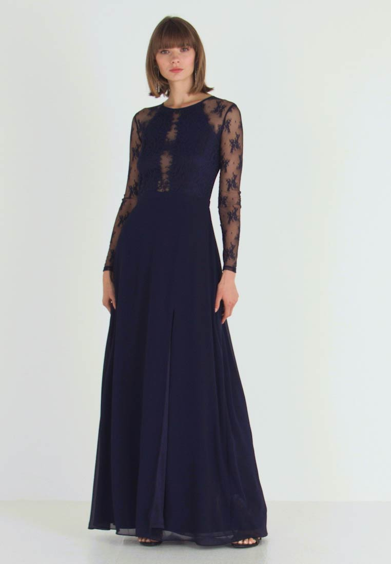 Nly by Nelly - SOMETHING ABOUT HER GOWN - Vestido de fiesta - navy - 1