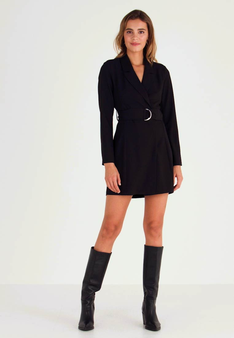 Nly by Nelly - FABULOUS SUIT DRESS - Robe fourreau - black - 1