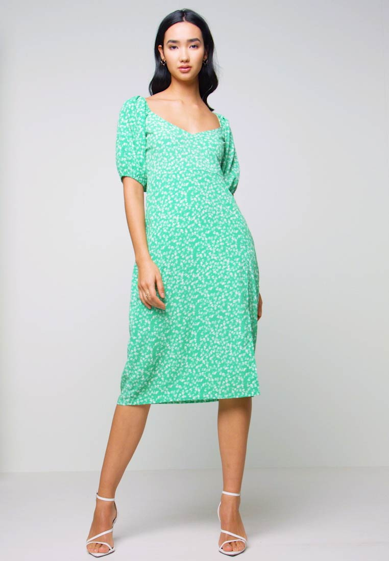 Nly by Nelly - OFF SHOULDER DRESS - Day dress - multi-coloured - 1