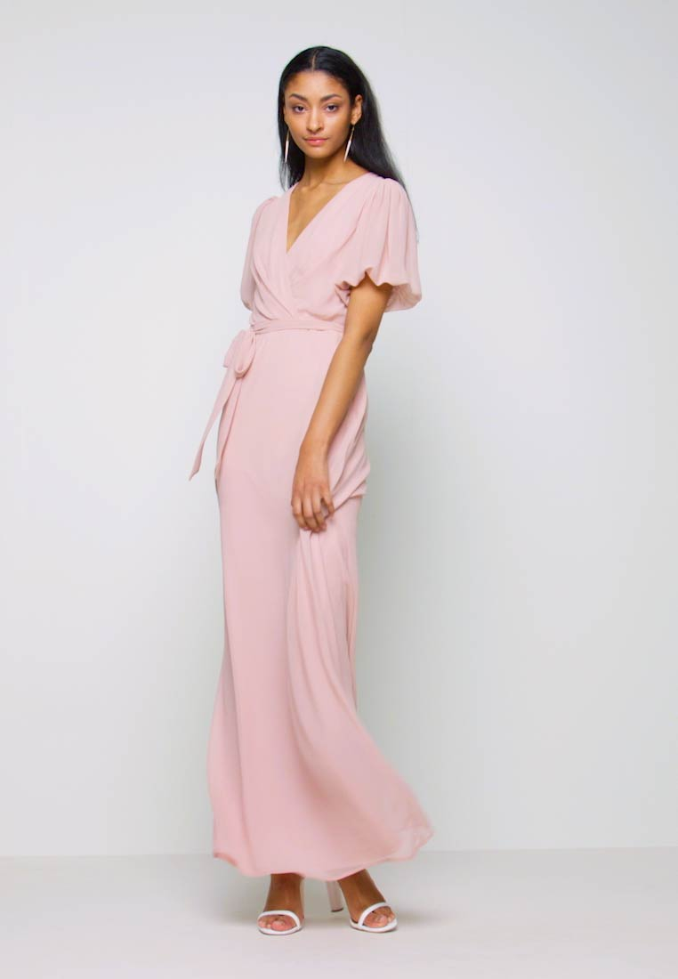Nly by Nelly - PUFF SLEEVE GOWN - Iltapuku - dusty pink - 1