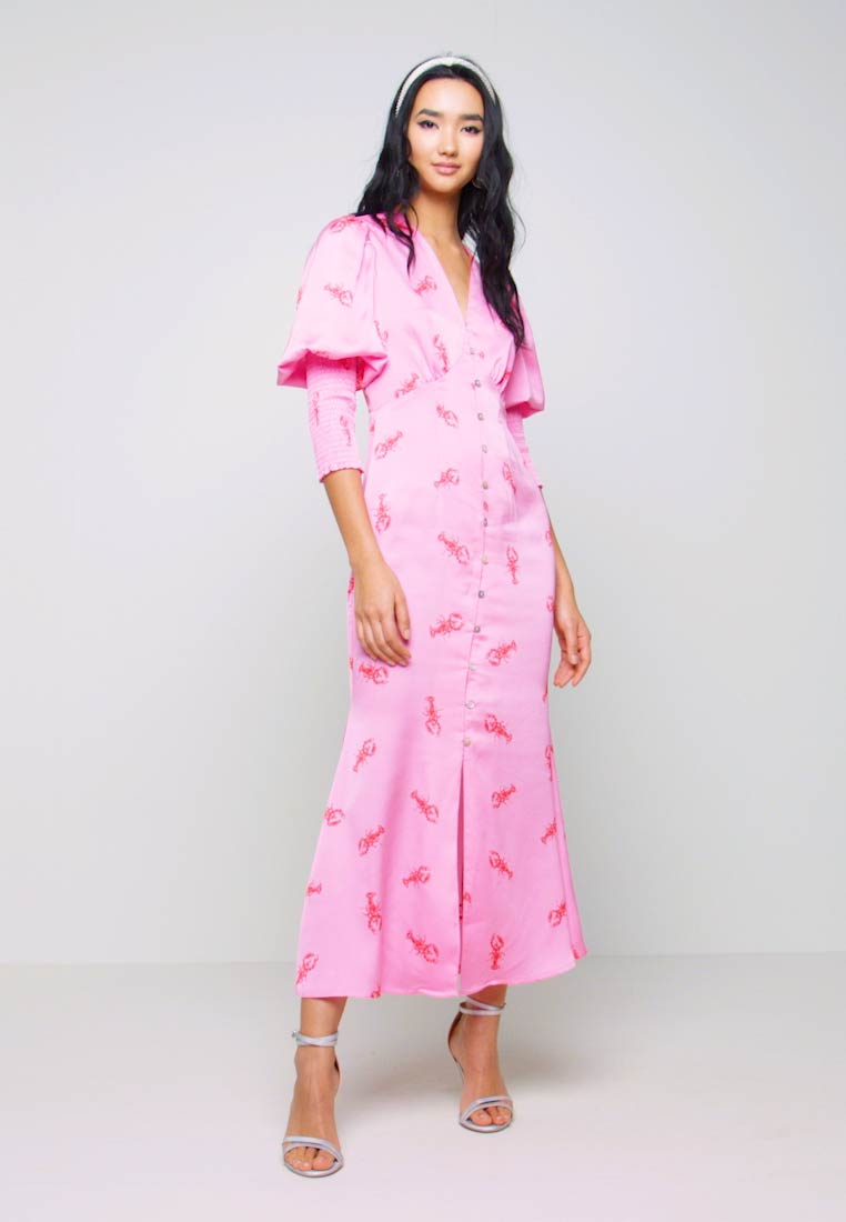 Never Fully Dressed - PINK LOBSTER DRESS - Day dress - pink - 1