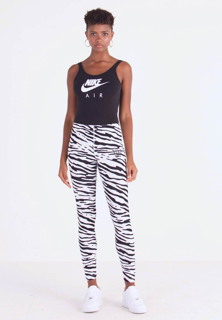 Nike Sportswear - Leggings - Trousers - white/black - 1