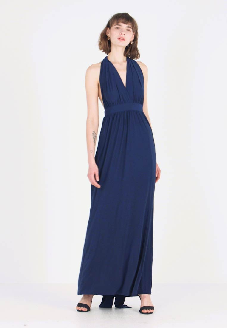 New Look - BRIDAL GO MULTIWAY GATHERED - Maxikleid - navy - 1