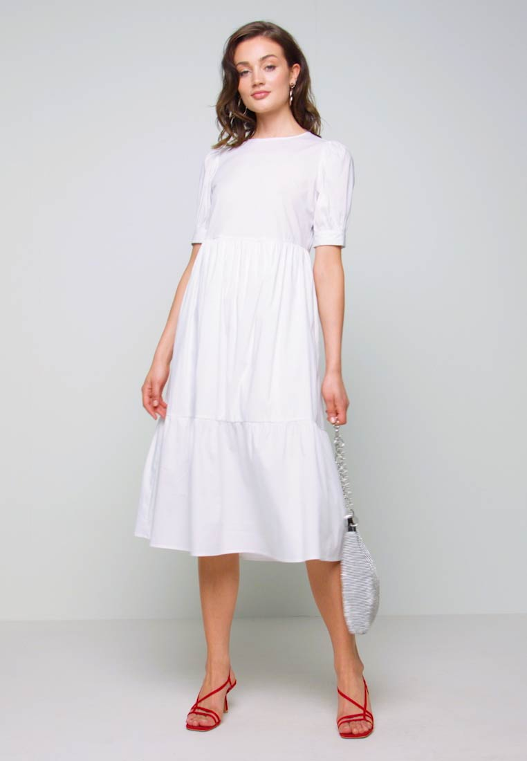 New Look - Day dress - white - 1