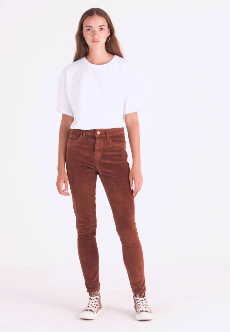 New Look - Trousers - camel - 1