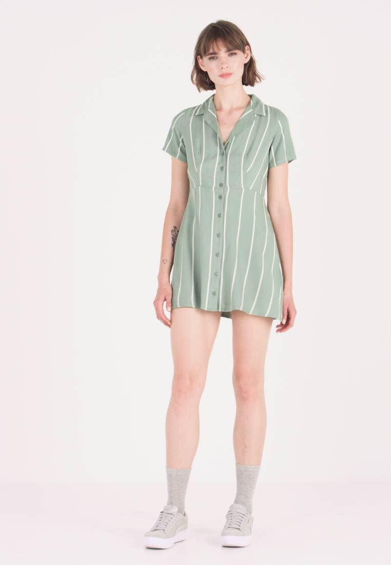 Obey Clothing - AMALFI DRESS - Shirt dress - pistachio - 1