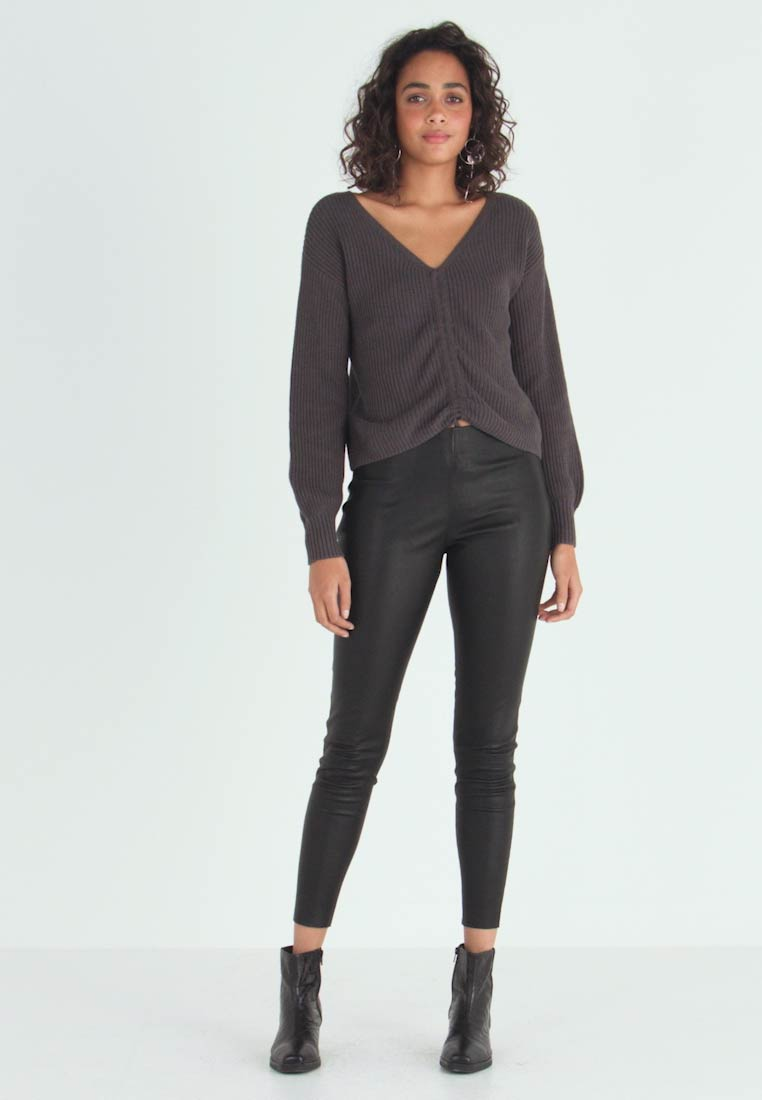 ONLY - ONLLENA - Trousers - black - 1
