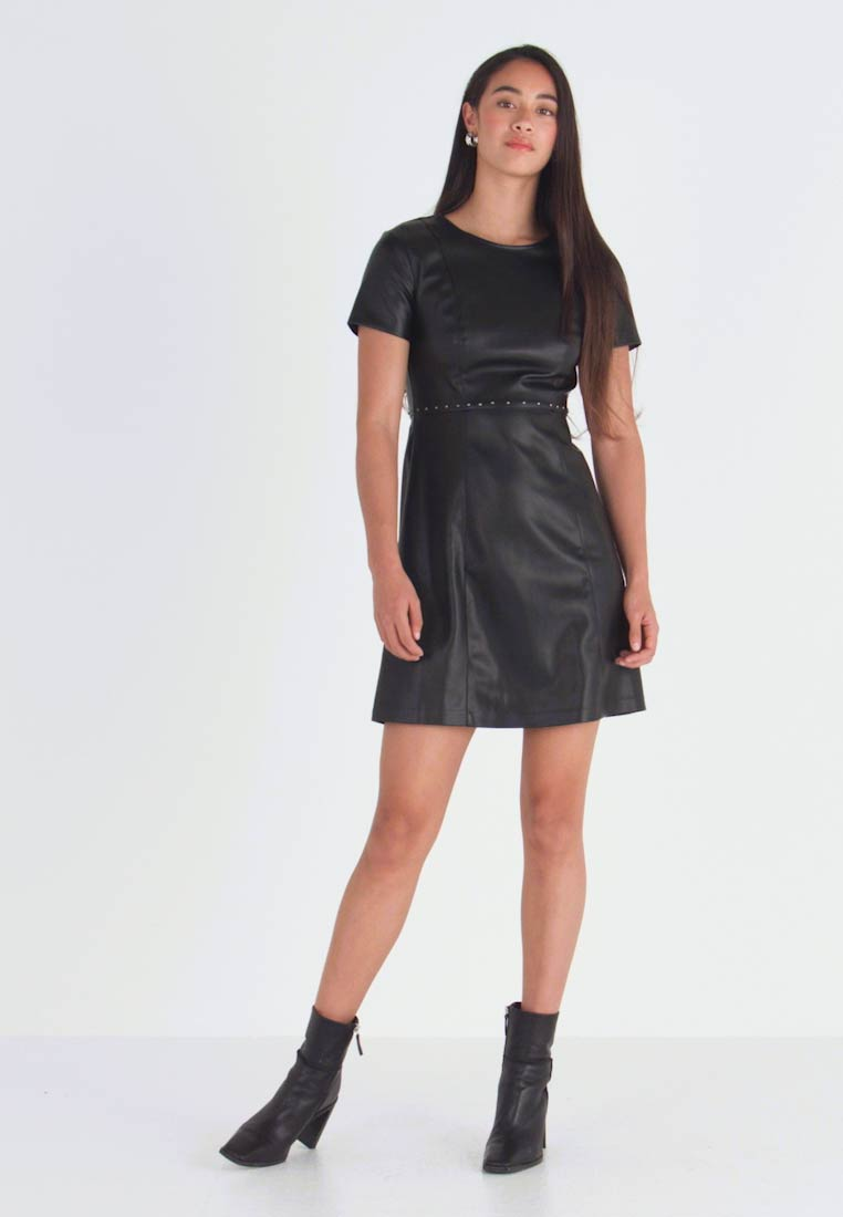 ONLY - ONLMAJKEN JOLEEN DRESS - Denní šaty - black - 1