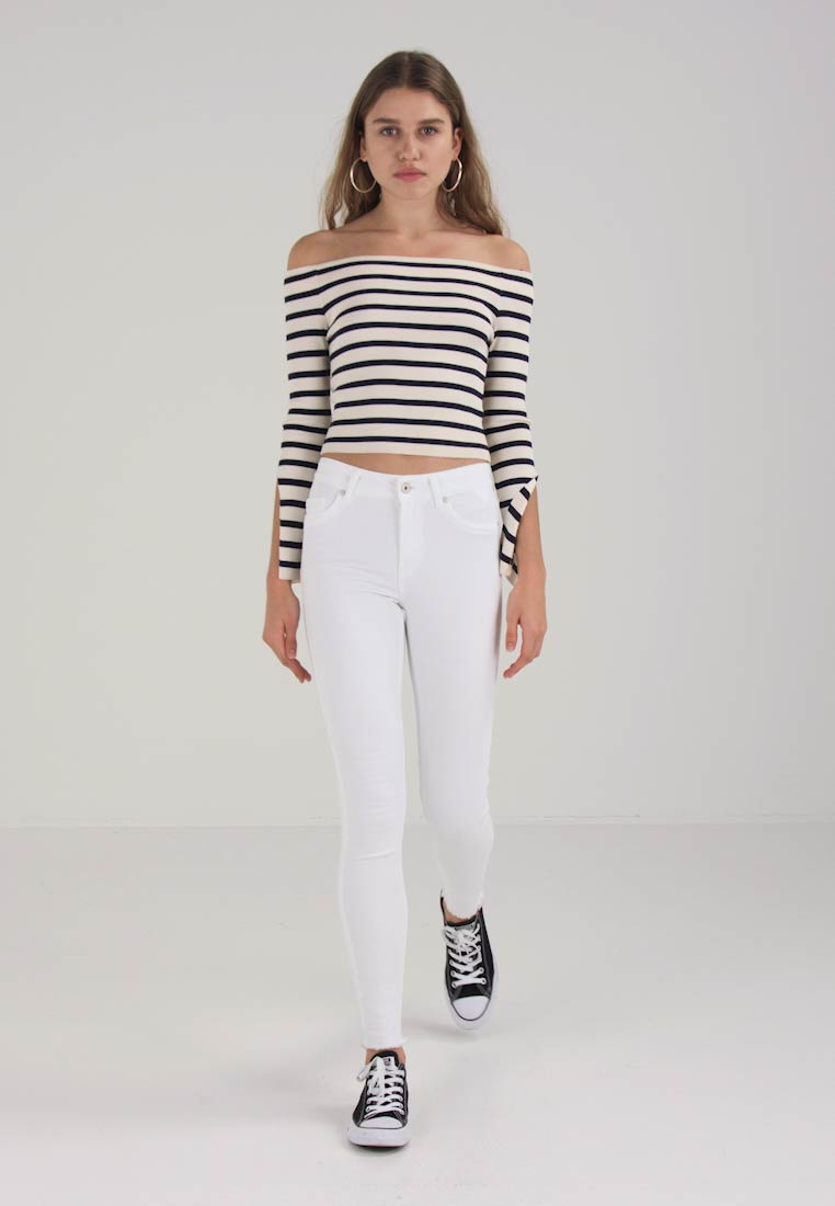 ONLY - ONLBLUSH RAW - Jeans Skinny Fit - white - 1