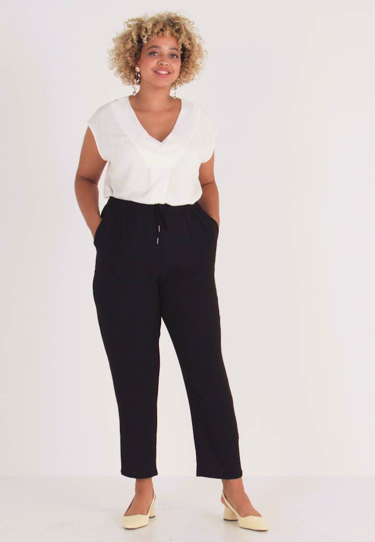 ONLY Carmakoma - Trousers - black - 1