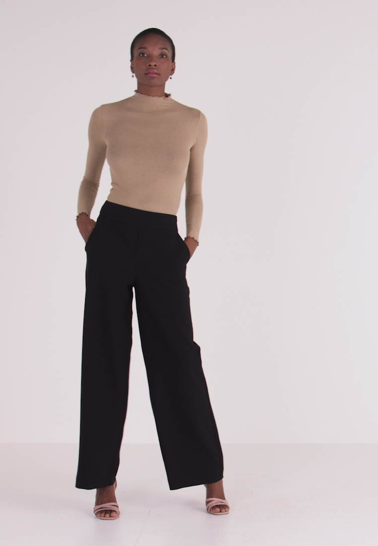 ONLY Tall - ONLINCA WIDE PANTS - Kalhoty - black - 1