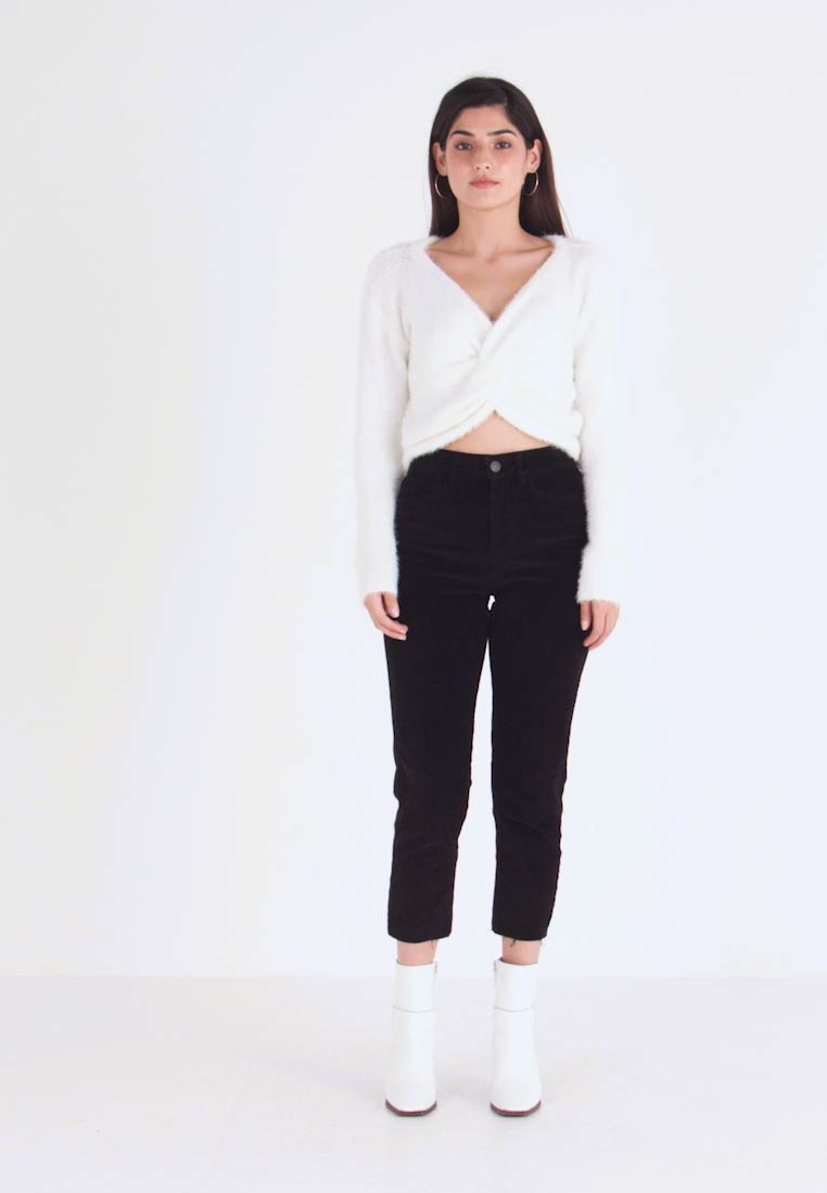 ONLY Petite - ONLEMILY GLOBAL - Trousers - black - 1