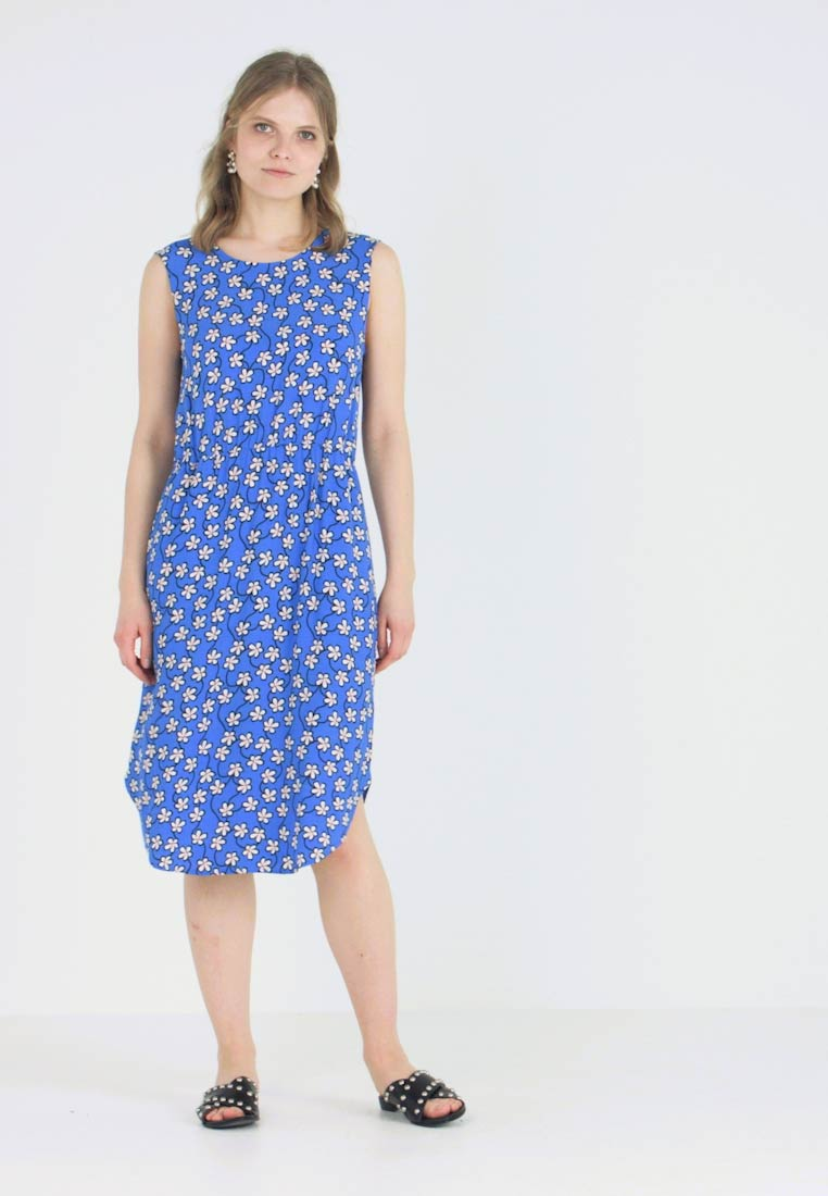 Marc O'Polo DENIM - DRESS STRAP DETAIL AT BACK - Day dress - blue - 1