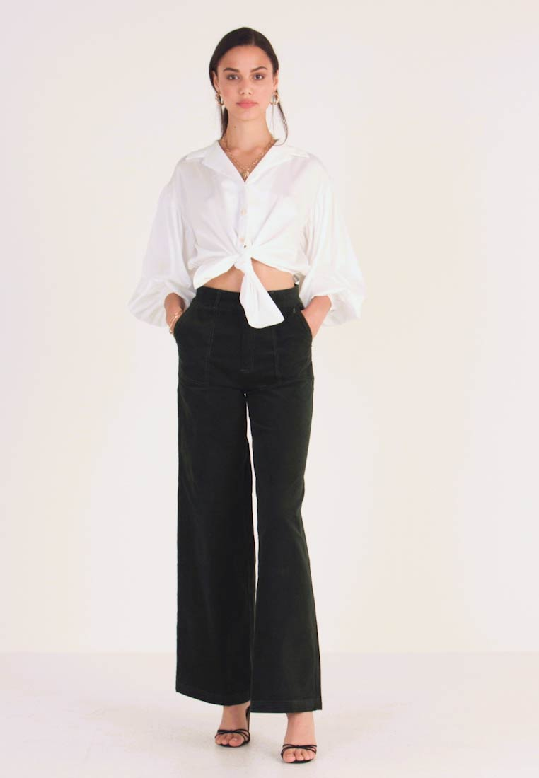 Pepe Jeans - MAYA - Trousers - forest green - 1