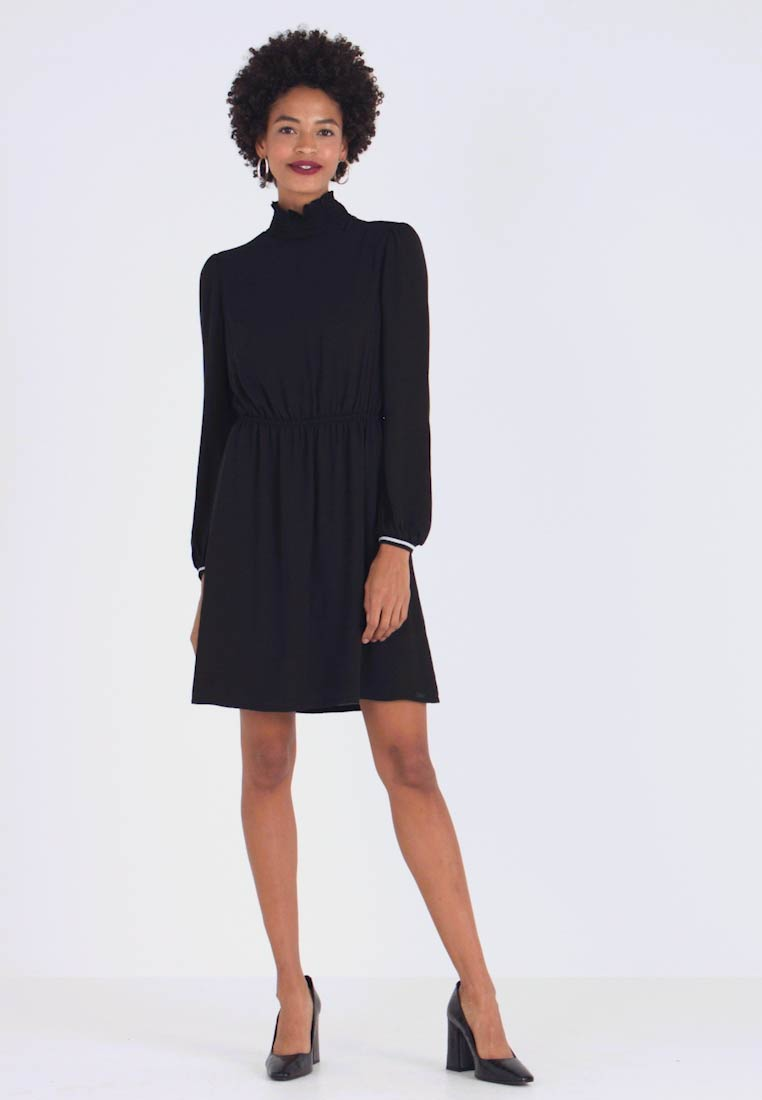 Q/S designed by - KURZ - Day dress - black - 1
