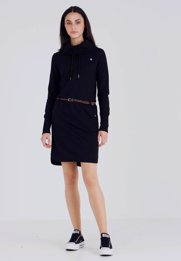 Ragwear - LAURRA - Day dress - black - 1