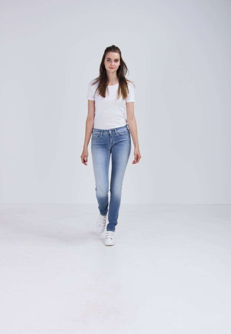 Replay - HYPERFLEX LUZ - Jeans Skinny Fit - light blue - 1