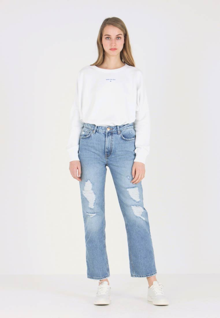 River Island - Jeans baggy - blue denim - 1