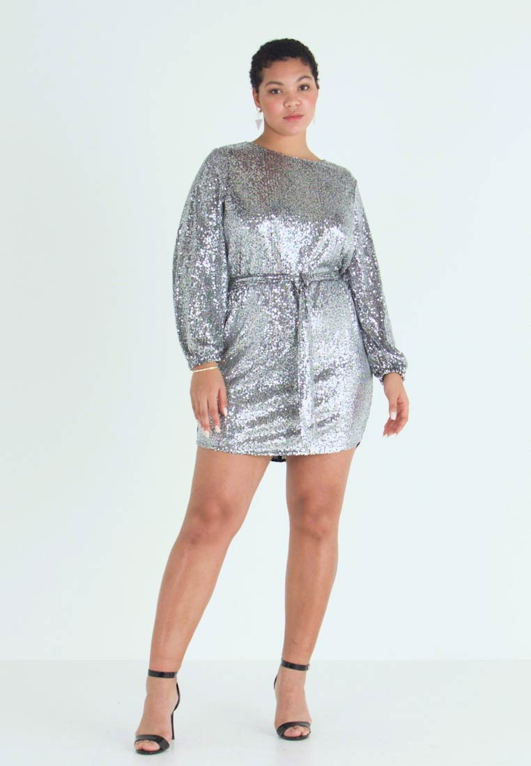 River Island Plus - Cocktail dress / Party dress - silver - 1