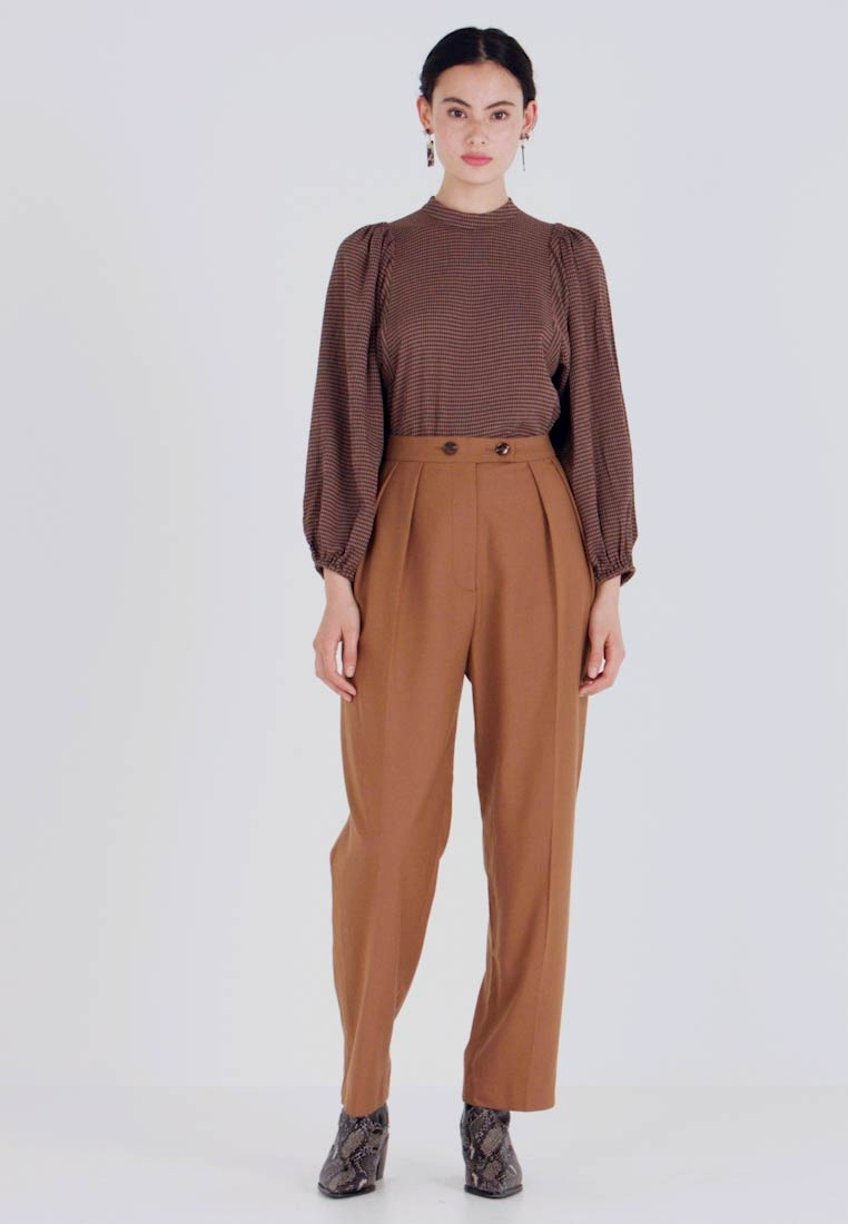 Samsøe Samsøe - FRANCOISE TROUSERS - Broek - argan oil - 1