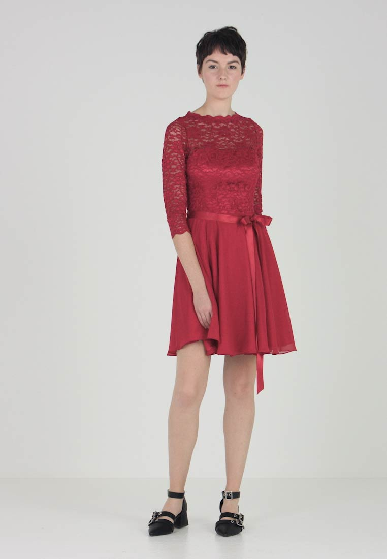 Swing - Cocktail dress / Party dress - weinrot - 1