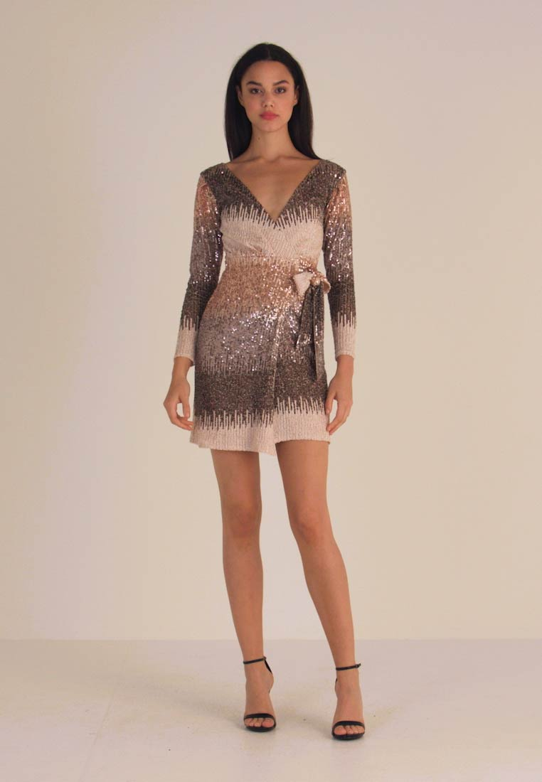 Sista Glam - CECILY - Cocktail dress / Party dress - silver - 1