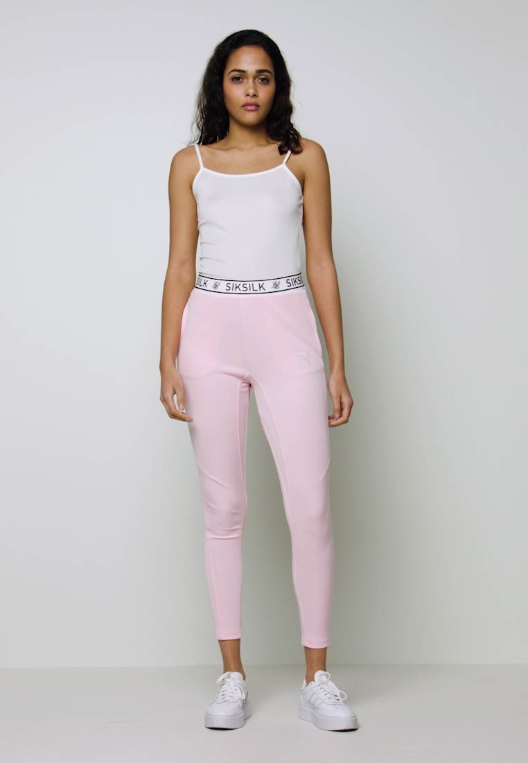 SIKSILK - ATHLETE TRACK PANTS - Legíny - pink - 1