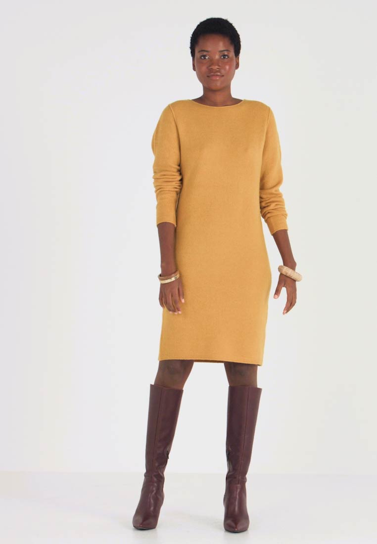 s.Oliver - Jumper dress - curry - 1