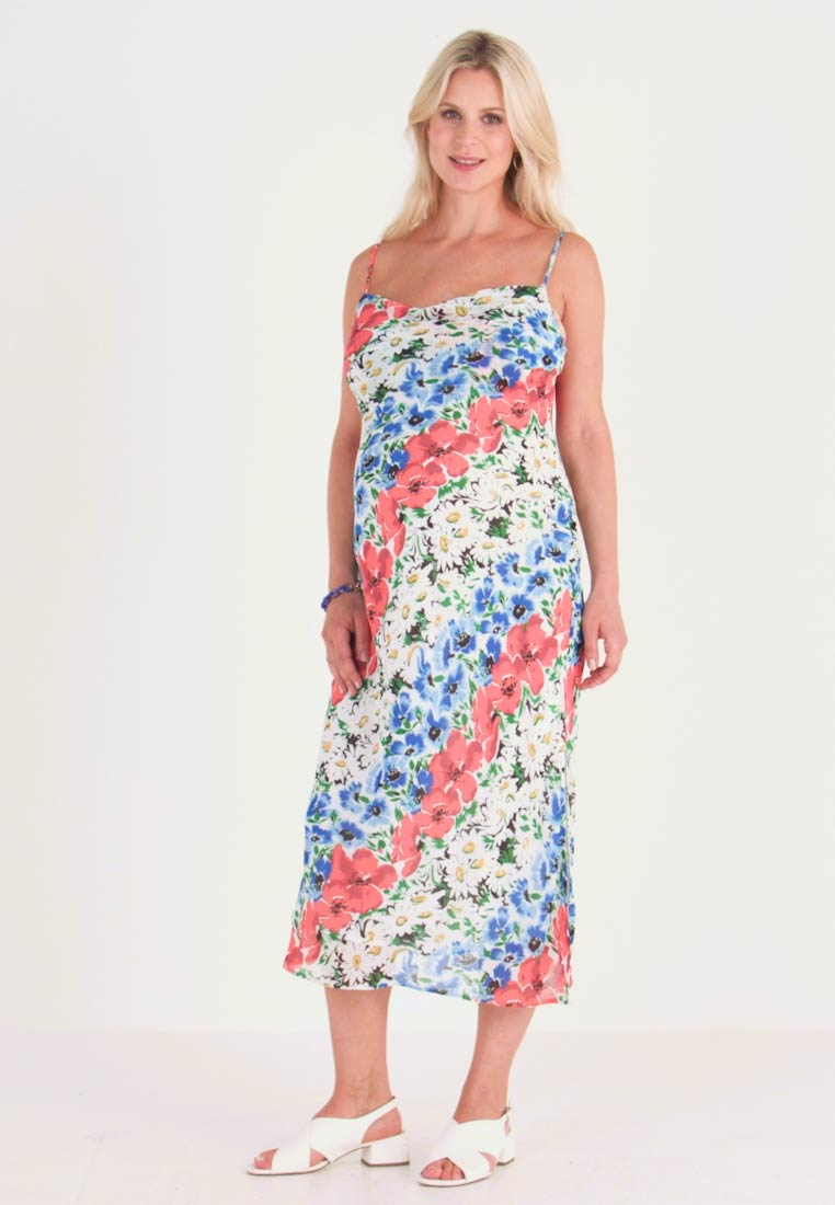 Topshop Maternity - GLITCH FLORAL DRESS - Maxi dress - multi-coloured - 1