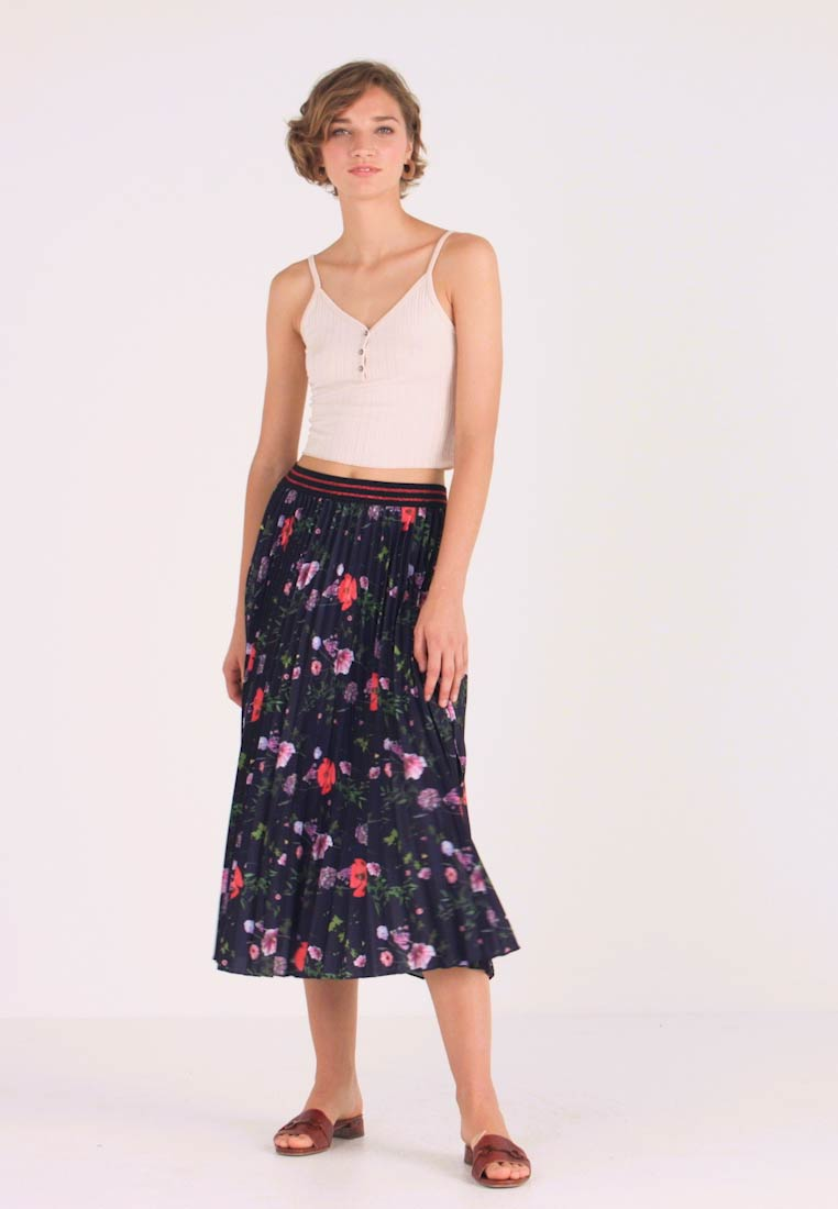 Ted Baker - LUISH - A-line skirt - dark blue - 1