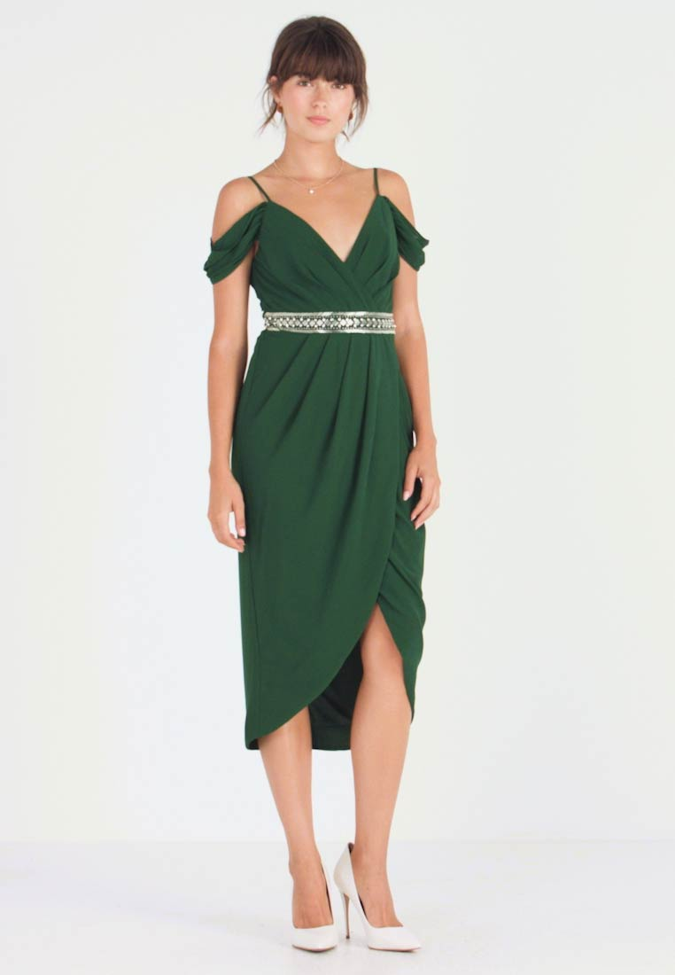 TFNC - WILLOW DRESS - Cocktailkjole - jade green - 1