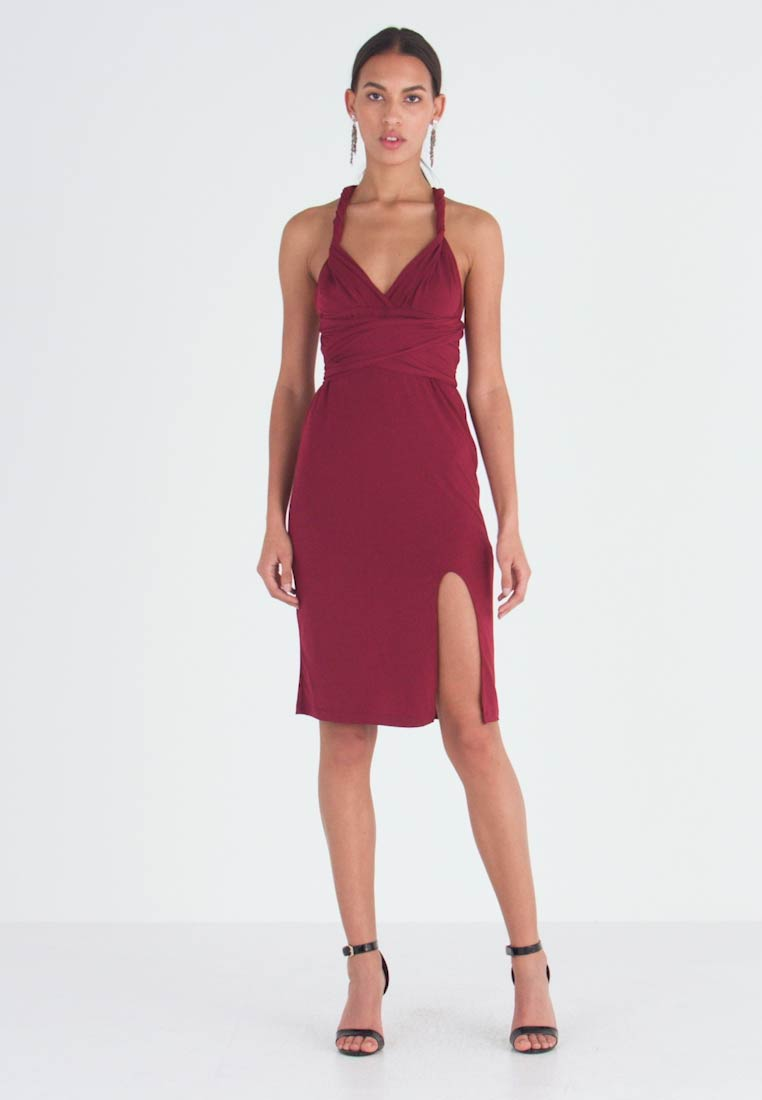 TFNC - MULTI WAY MIDI BODYCON - Juhlamekko - burgundy - 1