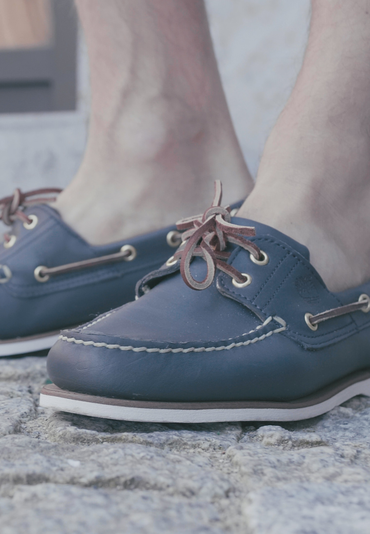 Timberland - CLASSIC - Chaussures bateau - blue - 1