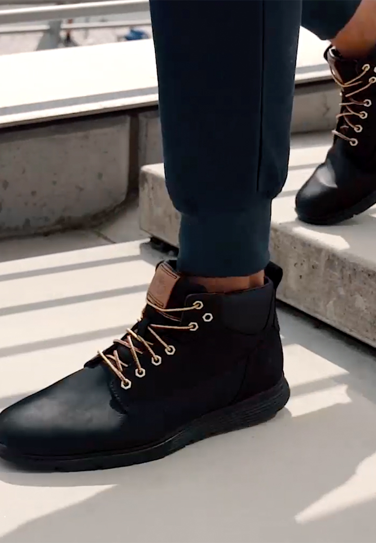 Timberland - KILLINGTON - Lace-up ankle boots - black - 1