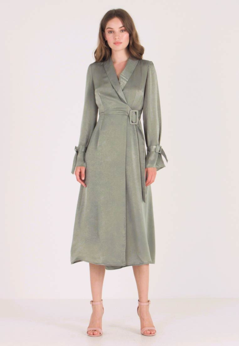 UNIQUE 21 - WRAP DRESS - Maxi šaty - sage - 1