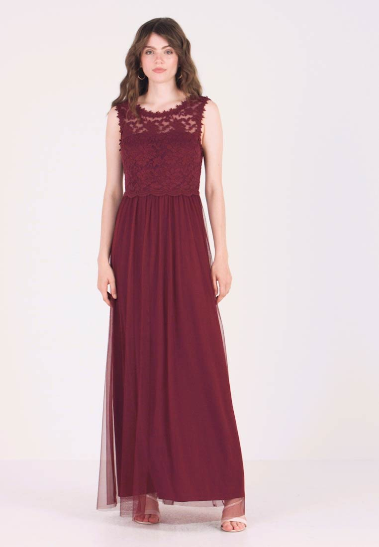 Vila - VILYNNEA MAXI DRESS - Occasion wear - tawny port - 1