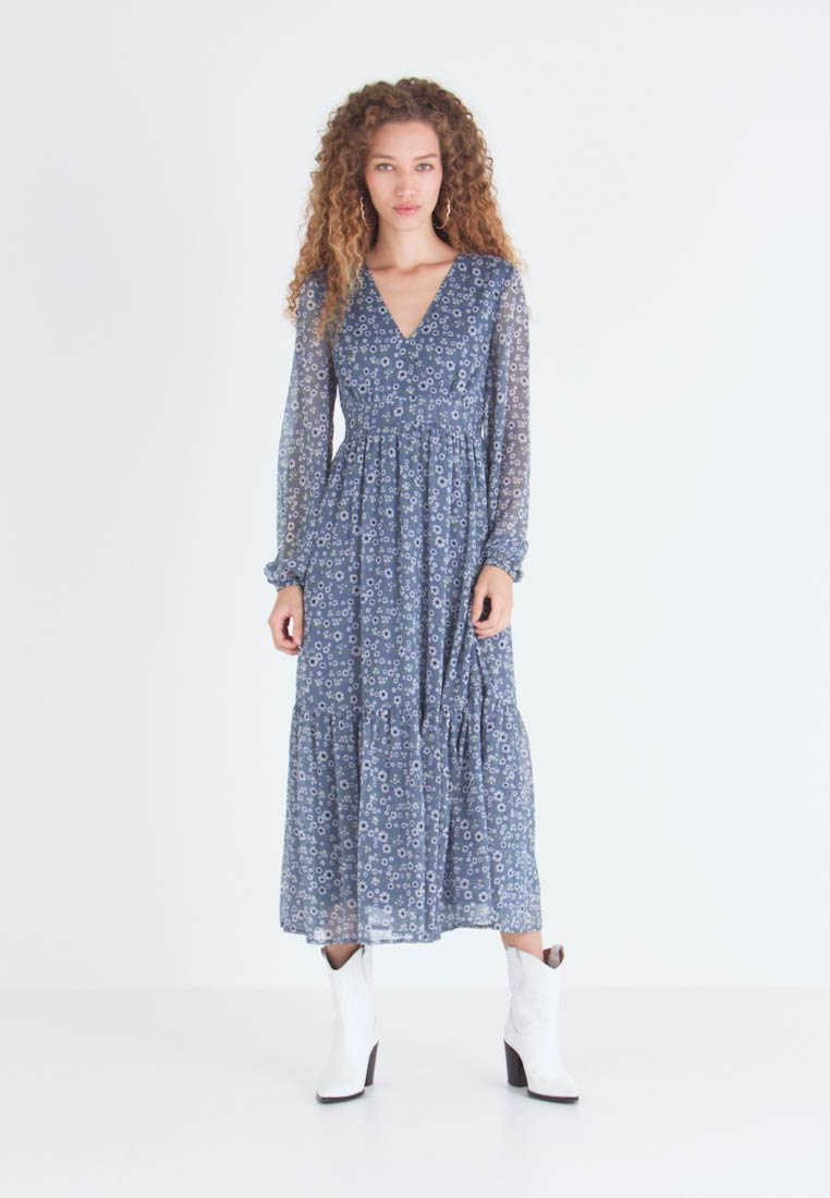 Vila - VIPETRA ANKLE DRESS - Robe d'été - china blue - 1