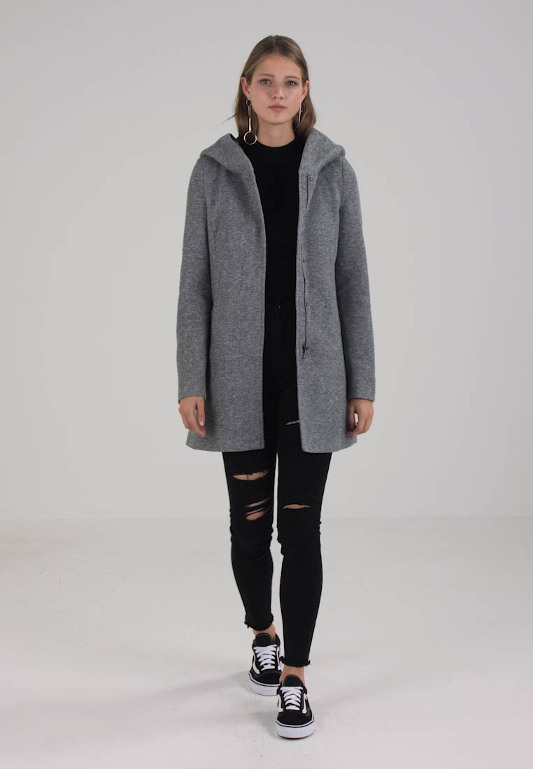 Vero Moda - VMVERODONA - Short coat - light grey melange - 1