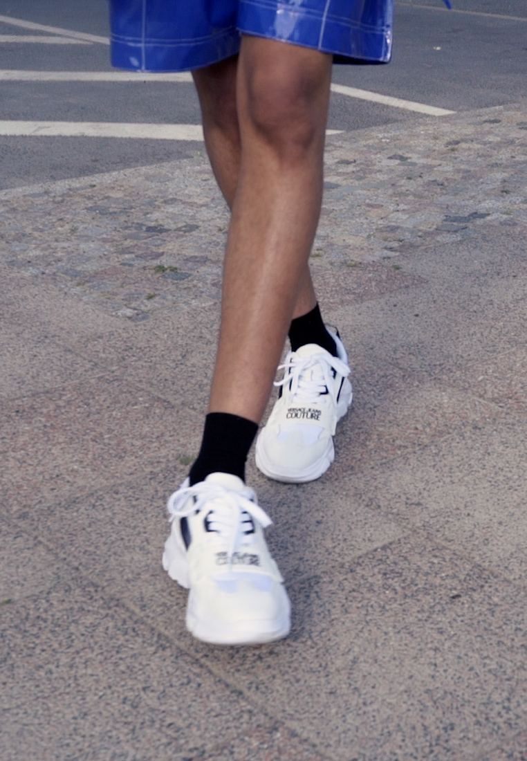 Versace Jeans Couture - SPEEDTRACK - Trainers - bianco ottico - 1